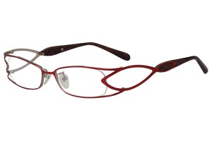 Red,Fullrim,Rectangle,Metal alloy eyeglasses - Z16CR1178-R