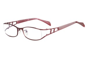 Burgandy,Fullrim,Oval,Metal alloy eyeglasses - Z16CR1200-BG