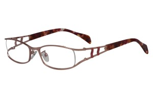 Pink,Fullrim,Oval,Metal alloy eyeglasses - Z16CR1200-PK