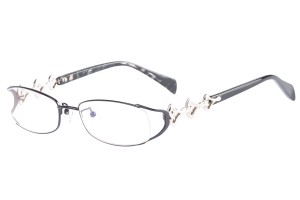 Black,Fullrim,Oval,Metal alloy eyeglasses - Z16CR1205-BK