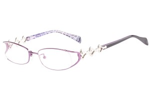 Purple,Fullrim,Oval,Metal alloy eyeglasses - Z16CR1205-PU