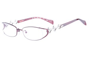 Red,Fullrim,Oval,Metal alloy eyeglasses - Z16CR1205-R