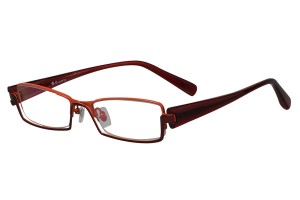 Red,Fullrim,Rectangle,Metal alloy eyeglasses - Z18B6439C11