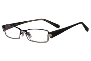 Blue,Fullrim,Rectangle,Metal alloy eyeglasses - Z18B6439C13