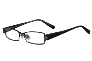 Metallic,Fullrim,Rectangle,Metal alloy eyeglasses - Z18B6439C3