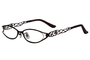 Purple,Fullrim,Oval,Metal alloy eyeglasses - Z18B6455C11