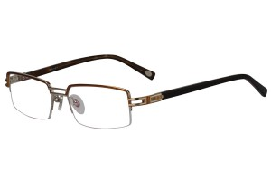 Silver,Semirim,Halfrim,SemiRimless,Rectangle,Metal alloy eyeglasses - Z18G80031C5