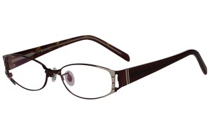 Red,Fullrim,Oval,Metal alloy eyeglasses - Z18G80095C11