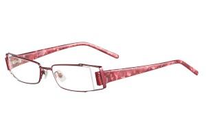 Red,Fullrim,Rectangle,Metal alloy eyeglasses - Z18G92078C11