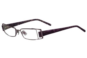 Purple,Fullrim,Rectangle,Metal alloy eyeglasses - Z18G92078C14