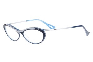 Blue,Fullrim,Cat eye,Acetate eyeglasses - Z619112-BL
