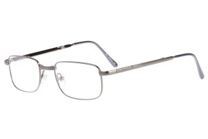 Metallic,Fullrim,Rectangle,Metal alloy eyeglasses,fold-able frame - Z64804-M