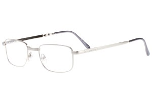Silver,Fullrim,Rectangle,Metal alloy eyeglasses,fold-able frame - Z64804-S