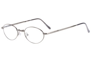 Metallic,Fullrim,Oval,Metal alloy eyeglasses, fold-able frame - Z64806-M