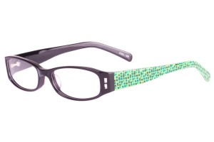 Black/green,Fullrim,Oval,Acetate eyeglasses - Z667051C8