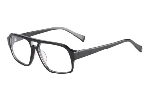 Black,Fullrim,Aviator,Acetate eyeglasses - Z66829C1
