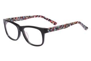 Black/colorful,Fullrim,Wayfarer,Acetate eyeglasses - Z66838C2