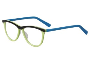 Green/blue,Fullrim,Cat eye,Acetate eyeglasses - Z66840C5