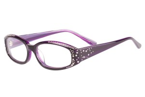 Purple,Fullrim,Cat eye,Acetate eyeglasses - Z66R3202C4