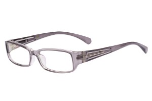 Grey/silver,Fullrim,Rectangle,Acetate eyeglasses - Z66S1023C39