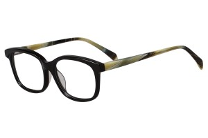 Black/yellow,Fullrim,Wayfarer,Acetate eyeglasses - Z676032C12