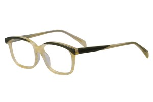 Green/yellow,Fullrim,Wayfarer,Acetate eyeglasses - Z676032C77