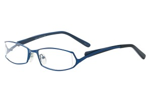 Blue,Fullrim,Rectangle,Metal alloy eyeglasses - Z792697C13