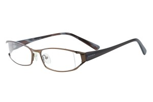 Brown,Fullrim,Rectangle,Metal alloy eyeglasses - Z792759C3