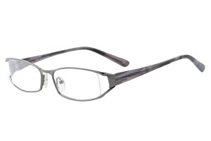 Metallic ,Fullrim,Rectangle,Metal alloy eyeglasses - Z792759C5