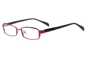 Red,Fullrim,Rectangle,Metal alloy eyeglasses - Z792865C80
