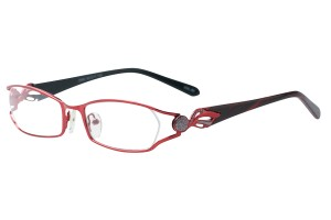 Red,Fullrim,Oval,Metal alloy eyeglasses - Z792866C80