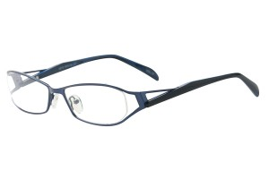 Blue,Fullrim,Oval,Metal alloy eyeglasses - Z792875C13
