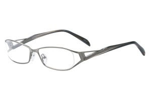 Metallic ,Fullrim,Oval,Metal alloy eyeglasses - Z792875C5