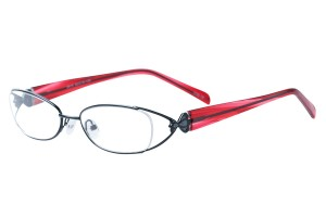 Black,Fullrim,Oval,Metal alloy eyeglasses - Z792915C15