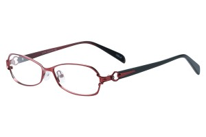 Red,Fullrim,Oval,Metal alloy eyeglasses - Z793175C2