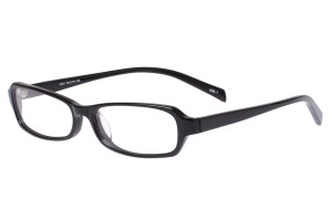 Black,Fullrim,Rectangle,Acetate eyeglasses - Z803001C1