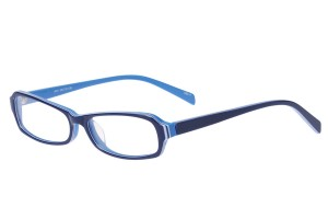 Blue,Fullrim,Rectangle,Acetate eyeglasses - Z803001C4