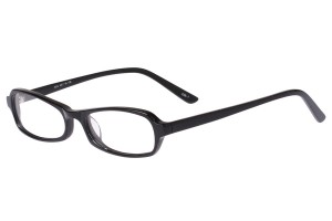 Black,Fullrim,Oval,Acetate eyeglasses - Z803002C1
