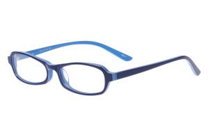 Blue,Fullrim,Oval,Acetate eyeglasses - Z803002C4