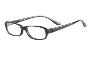 Black,Fullrim,Rectangle,Acetate eyeglasses - Z803003C1