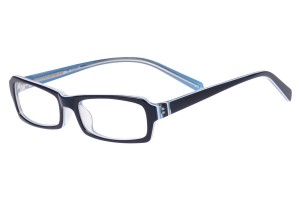 Blue,Fullrim,Rectangle,Acetate eyeglasses - Z803005C4