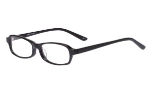Black,Fullrim,Rectangle,Acetate eyeglasses - Z803006C1