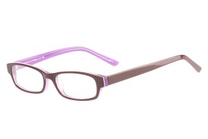 Purple,Fullrim,Rectangle,Acetate eyeglasses - Z803008C2