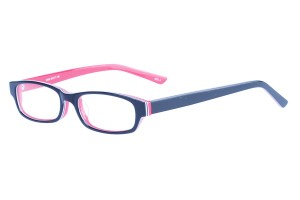 Black/red,Fullrim,Rectangle,Acetate eyeglasses - Z803008C3