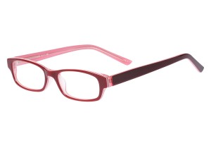Red,Fullrim,Rectangle,Acetate eyeglasses - Z803008C4