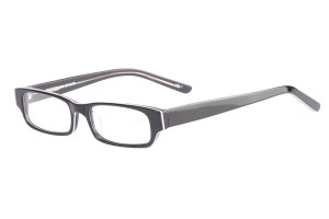 Black,Fullrim,Rectangle,Acetate eyeglasses - Z803009C2
