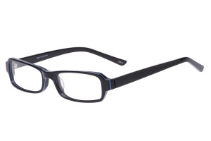Black,Fullrim,Rectangle,Acetate eyeglasses - Z803010C2