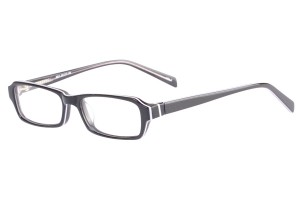 Black,Fullrim,Rectangle,Acetate eyeglasses - Z803011C2