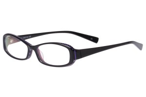 Black,Fullrim,Rectangle,Acetate eyeglasses - Z80AB002C4