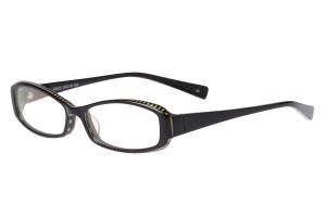 Black,Fullrim,Rectangle,Acetate eyeglasses - Z80AB002C6